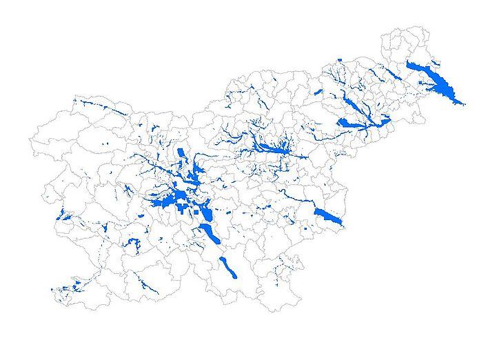 Območja veljavnosti rezultatov integralnih kart poplav